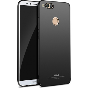 Etui MSVII Huawei Honor 7X Black + Szkło