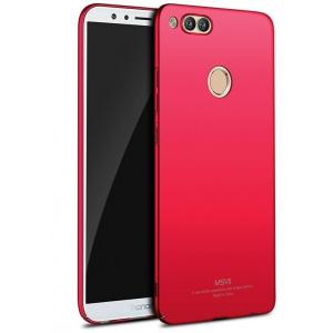 Etui MSVII Huawei Honor 7X Red + Szkło