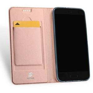 Etui DuxDucis SkinPro HTC U11 Life Rose Gold + Szkło