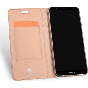 Etui DuxDucis SkinPro Huawei Honor 7X Rose Gold + Szkło
