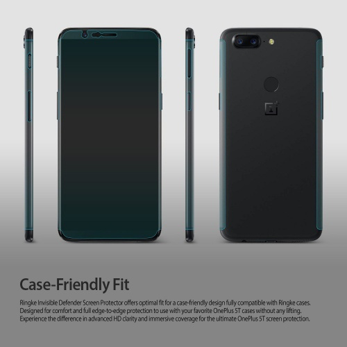 Ringke Invisible Defender OnePlus 5T Case Friendly