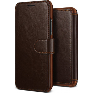 Etui VRS Design Layered Dandy iPhone X Brown