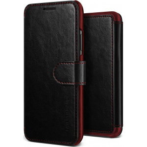Etui VRS Design Layered Dandy iPhone X Black