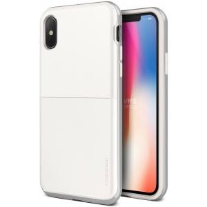 VRS Design High Pro Shield S iPhone X White Silver