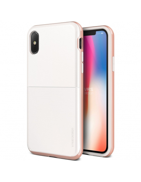 VRS Design High Pro Shield S iPhone X White Rose