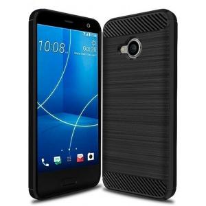Etui HS Case SOLID TPU HTC U11 Life Black + Szkło