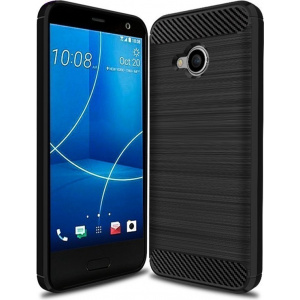 HS Case SOLID TPU HTC U11 Life Black + Screen protector