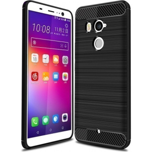 HS Case SOLID TPU HTC U11 Plus Black + Screen protector