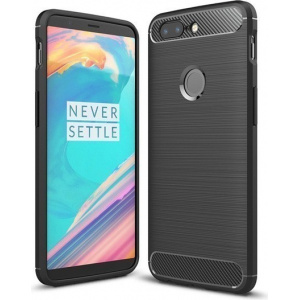 HS Case SOLID TPU OnePlus 5T Black + Screen protector