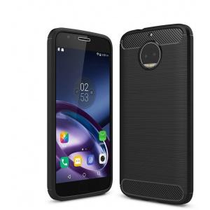 Etui HS Case SOLID TPU Moto G5S Plus Black + Szkło