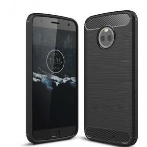 Etui HS Case SOLID TPU Moto X4 Black + Szkło