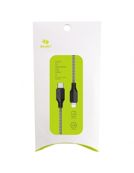 Kabel Benks USB-C do Lightning 100cm