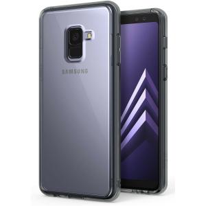 Etui Ringke Fusion Samsung Galaxy A8 2018 Smoke Black