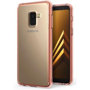 Ringke Fusion Samsung Galaxy A8 2018 Rose Gold