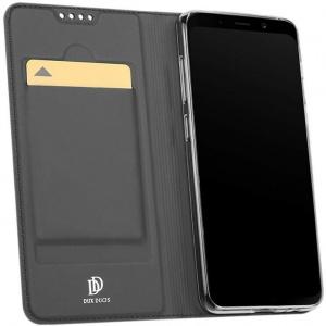 Etui DuxDucis SkinPro Samsung Galaxy A8 2018 Gray + Szkło