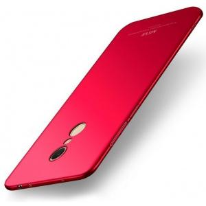 Etui MSVII Xiaomi Redmi 5 Red + Szkło