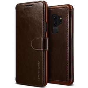 Etui VRS Design Layered Dandy Samsung Galaxy S9 Plus Brown