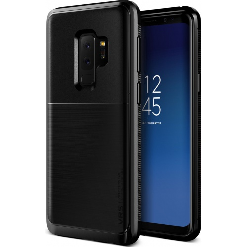 VRS Design High Pro Shield Samsung Galaxy S9 Plus Metal Black