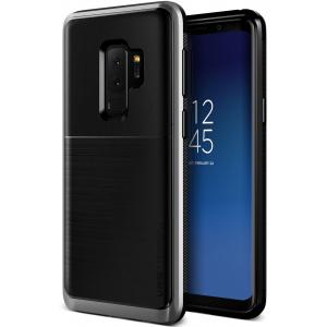 Etui VRS Design High Pro Shield Samsung Galaxy S9 Plus Steel Silver