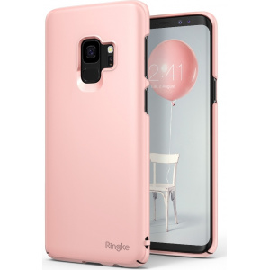 Etui Ringke Slim Samsung Galaxy S9 Peach Pink