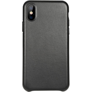Etui Benks Leather Case iPhone X Black