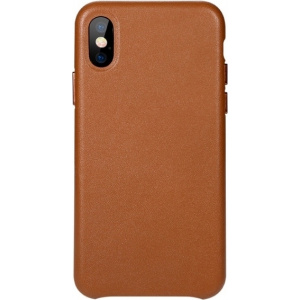 Benks Leather Case iPhone X Brown