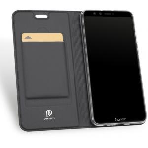 Etui DuxDucis SkinPro Huawei Honor 9 Lite Gray + Szkło