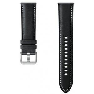 Samsung Galaxy Watch 22mm Strap ET-SLR84LBEGEU Stitch Leather black