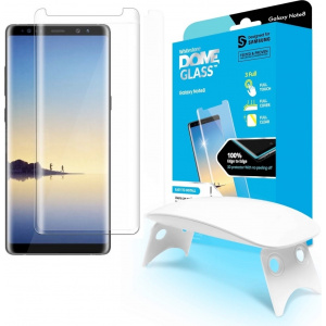 Szkło hartowane z klejem UV Whitestone Dome Glass Samsung Galaxy Note 8