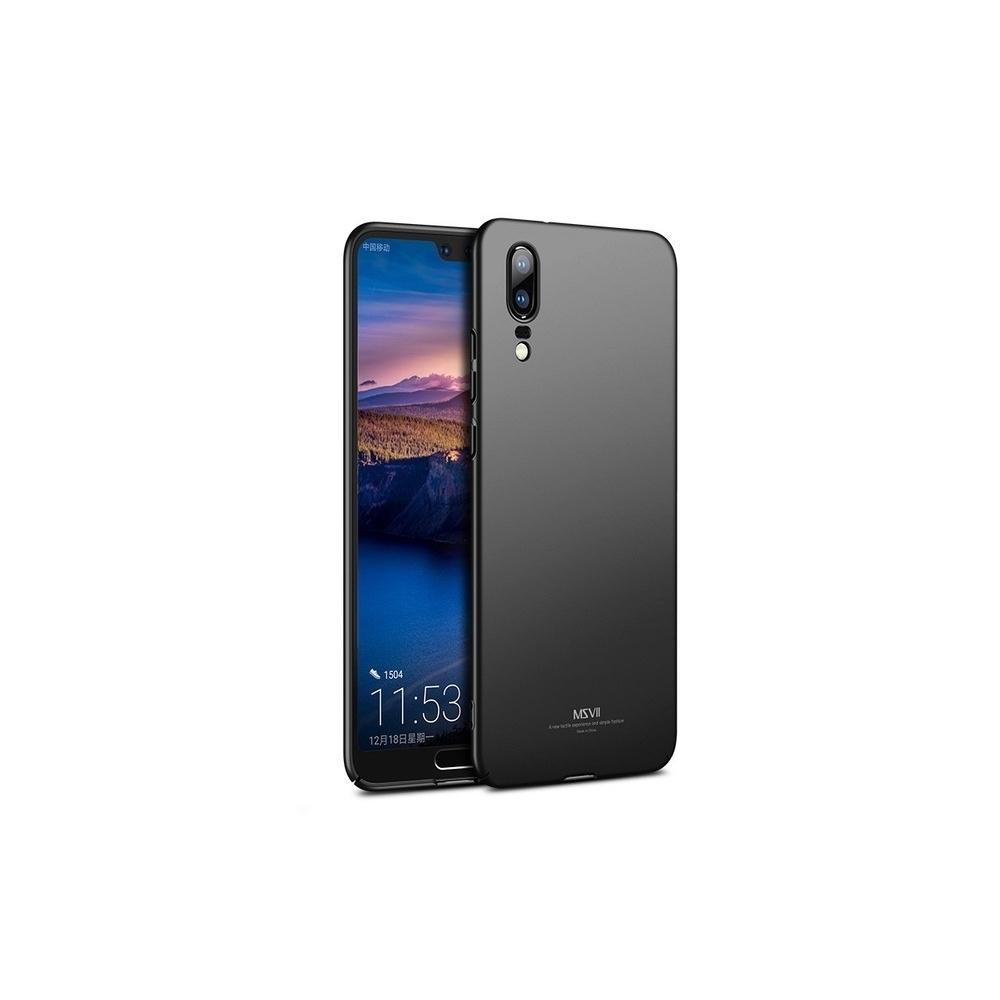 MSVII Huawei P20 Black + Tempered Glass