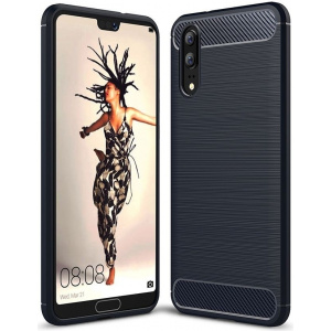 HS Case SOLID TPU Huawei P20 Black