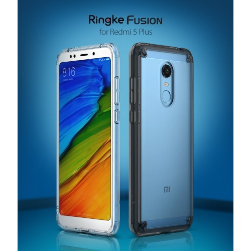 Etui Ringke Fusion Xiaomi Redmi 5 Plus Smoke Black