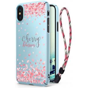Ringke Slim Cherry Blossom iPhone X Sky Blue