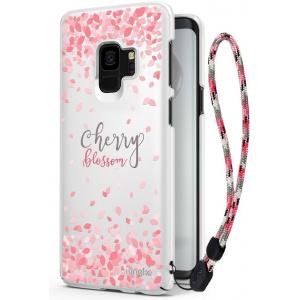 Etui Ringke Slim Cherry Blossom Samsung Galaxy S9 White