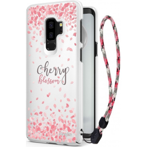 Etui Ringke Slim Cherry Blossom Samsung Galaxy S9 Plus White