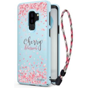 Etui Ringke Slim Cherry Blossom Samsung Galaxy S9 Plus Sky Blue
