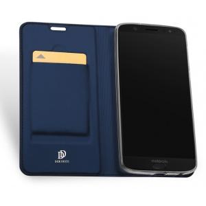Etui DuxDucis SkinPro Moto G6 Plus Blue + Szkło