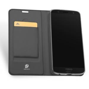 DuxDucis SkinPro Moto G6 Gray + Screen protector