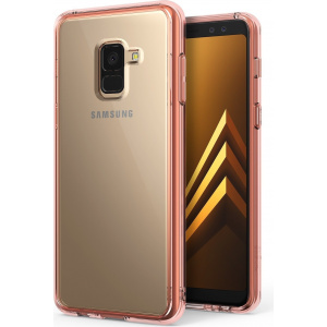 Etui Ringke Fusion Samsung Galaxy A8 2018 Rose Gold