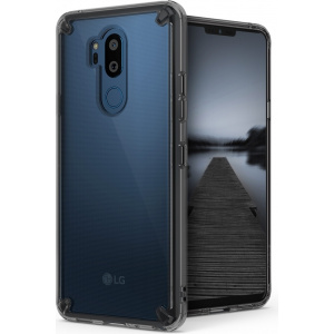 Etui Ringke Fusion LG G7 ThinQ Smoke Black