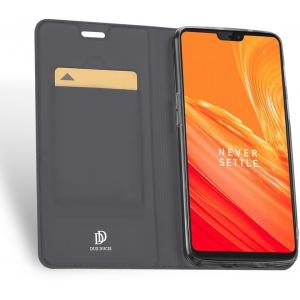 DuxDucis SkinPro OnePlus 6 Gray + Screen protector