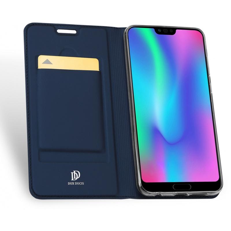 Etui DuxDucis SkinPro Huawei Honor 10 Blue + Szkło
