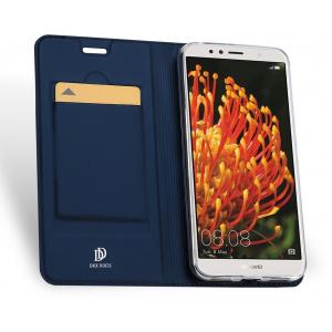 Etui DuxDucis SkinPro Huawei Y6 2018 Blue