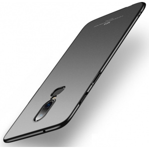 Etui MSVII OnePlus 6 Black + Szkło