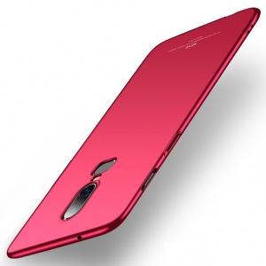Etui MSVII OnePlus 6 Red + Szkło