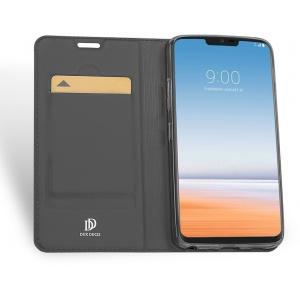 DuxDucis SkinPro LG G7 ThinQ Gray + Screen Protector
