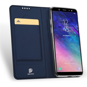DuxDucis SkinPro Samsung Galaxy A8 Plus 2018 Blue + Screen Protector