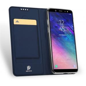 Etui DuxDucis SkinPro Samsung Galaxy A8 Plus 2018 Blue + Szkło