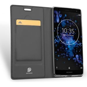 Etui DuxDucis SkinPro Sony Xperia XZ2 Premium Gray + Szkło