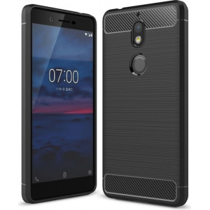 Etui HS Case SOLID TPU Nokia 7 Black + Szkło